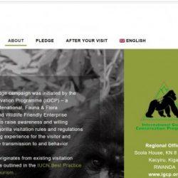 Why You Need to Take the Mountain Gorilla FriendlyTM Pledge.
