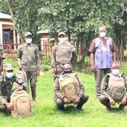 Rangers Receive Backpacks to Aid Field Work